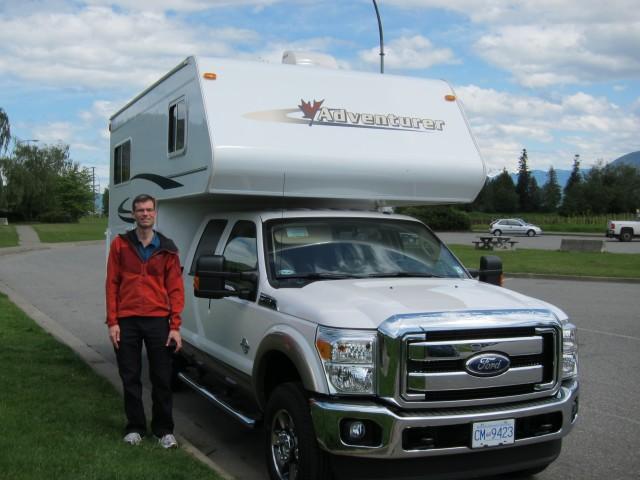 RV Truck Camper