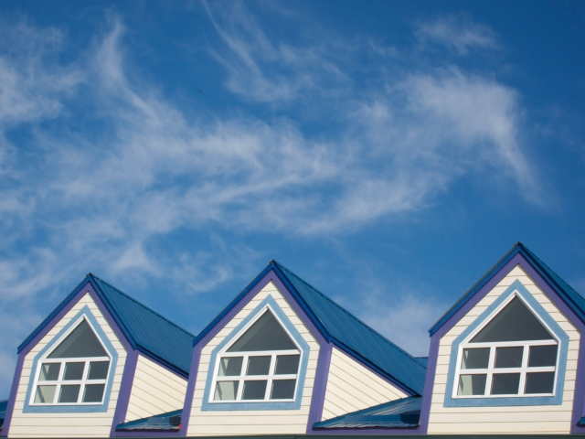 Whitehorse roof line