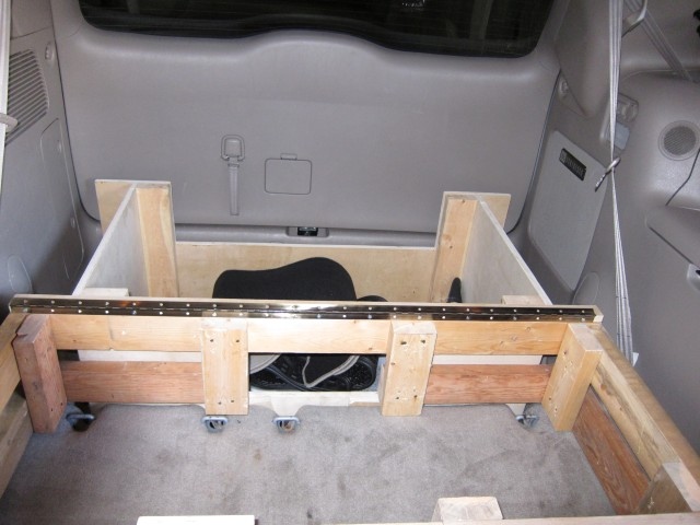 Minivan conversion photo 1